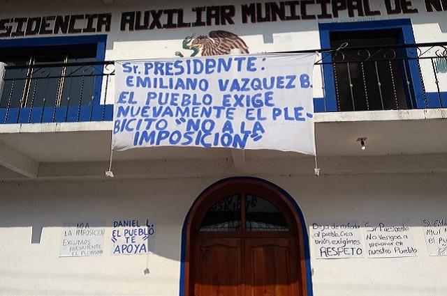 Acusa amenazas aspirante a edil auxiliar en Zapotitlán