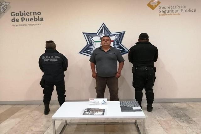 Cae ex comandante de Zapotitlán de Méndez por narcomenudeo