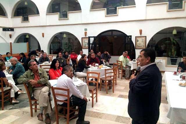 Zavala exige a las autoridades en Cholula proteger a ciudadanos