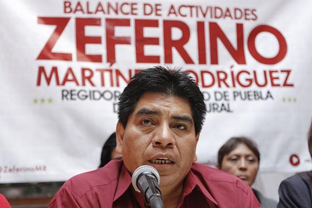 Por Covid-19 muere Zeferino Martínez, líder del PT en Puebla