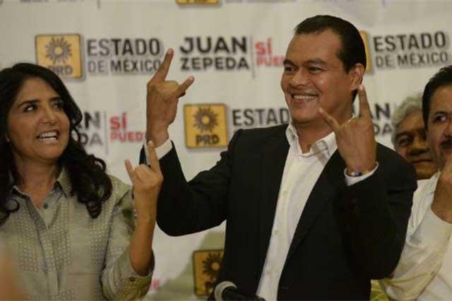 Juan Zepeda dice que no busca chambas y que no trabajará con Del Mazo