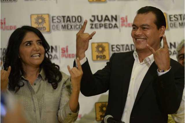 Juan Zepeda anuncia que buscará la presidencia del PRD