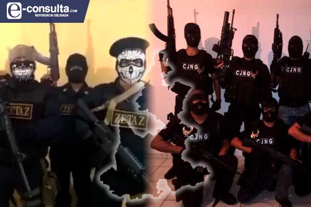 Operan y lavan dinero en Puebla el CJNG y Los Zetas, confirma UIF
