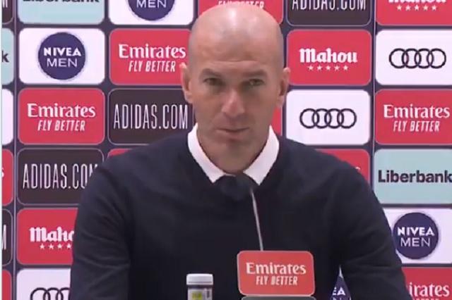 Real Madrid hace oficial la baja de Zinedine Zidane como director técnico