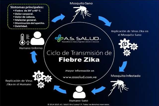 Difunden 5 medidas de seguridad para evitar el virus del zika