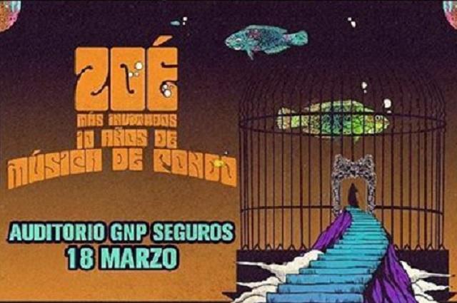Zoé vuelve a Puebla para presentar su Música de Fondo Unplugged