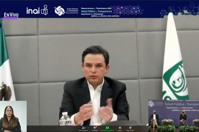 Fortalece IMSS transparencia sobre acciones ante Covid-19