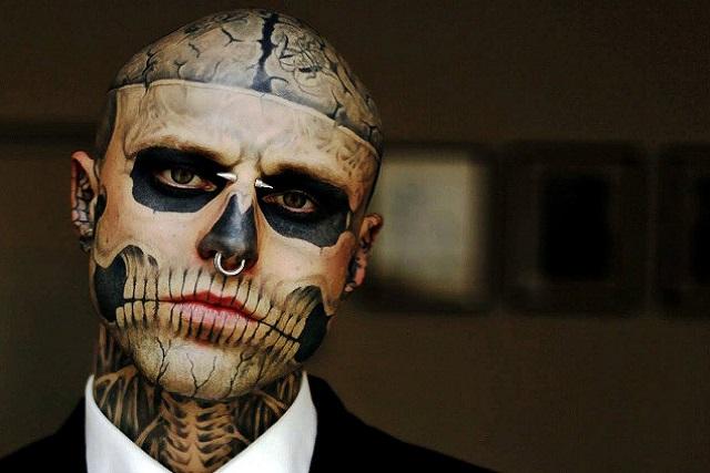 Hallan sin vida al modelo y actor conocido como Zombie Boy