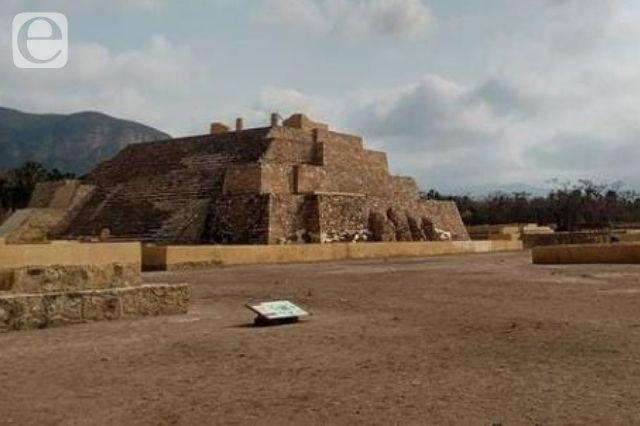 Con bajo recurso opera la zona arqueológica de Tehuacán