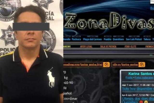 Capturan a El Soni, dueño del portal Zona Divas