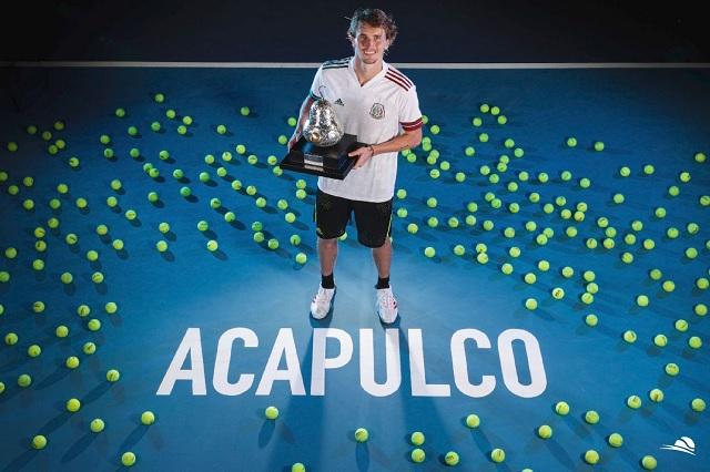 Abierto Mexicano de Tenis: Alexander Zverev se corona en Acapulco