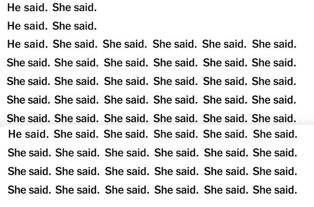 Él dijo, ella dijo: El anuncio contra el acoso sexual del New York Times