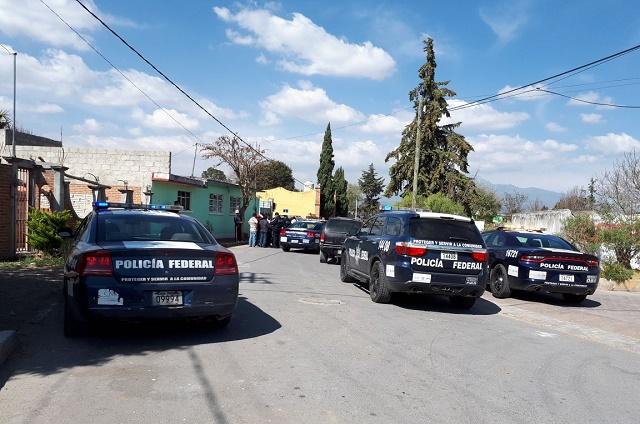 Sujetos desatan persecución en Acajete con camioneta robada